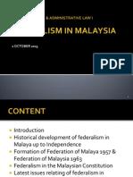 Federalism in Malaysia