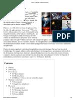 Physics - Wikipedia, The Free Encyclopedia