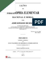 Philosophia Elementar - Obra Rara