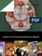 Introduction à la Microéconomie Ch 9