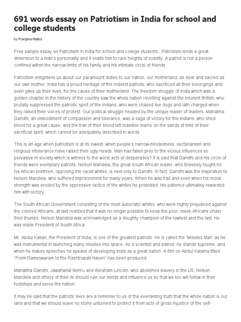 mahatma gandhi speech for students