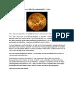 Caracteristici Ale Planetei Venus