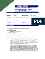 SL 2007 1st quarter report