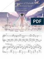 The Disappearance of Hatsune Miku (Piano)