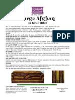 Large Afghan