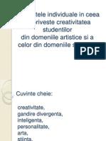 Diferentele individuale in ceea ce priveste creativitatea studentilor.pptx