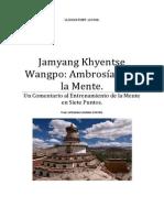 Jamyang Khyentse Wangpo Ambrosía para la Mente