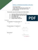 Bedah Soal Ujian Nasional 12 Sma Ipa Kode 24 Th 2013