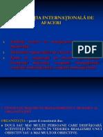 Curs 2 - Organizatia Internationala de Afaceri