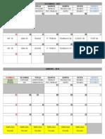 Calendário - Estudos 2013.2_2014.1