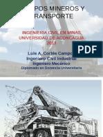Equipos Mineros y Transporte 2 Sem 2013