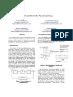 digital phase lock loop detector