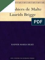 Les Cahiers de Malte Laurids Br - Rilke, Rainer Maria