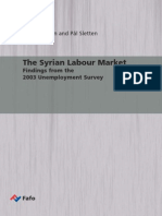 The Syrian Labor Market