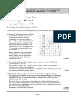 Mathe Abitur 2012 Lösung Analysis