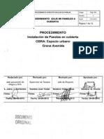 Procedimiento Instalación de Paneles en Cubierta 1