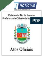 atos nova iguaçu Novembro 08-11-2013 sexta - Notícias de Nova Iguaçu