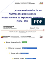 presentacion PNEV.2013