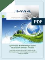 Aplicaciones de biotecnología para la recuperación del medio ambiente