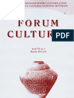 Revista Forum cultural, anul VI, nr. 1, martie 2006 (20)