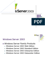 Intro to Windows 2003 Server