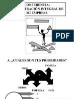 ADMINISTRACIÒN INTEGRAL DE LA EMPRESA