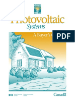 7524357 Consumer Photo Voltaic Systems a Buyers Guide