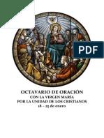 OCTAVARIO DE ORACIÓN CON LA VIRGEN MARÍA POR LA UNIDAD DE LOS CRISTIANOS