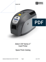 ZXP3 - Parts e Spares Numbers