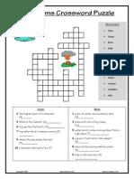 Landforms Crossword Medium