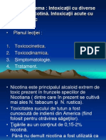Intoxicatii Cu Nicotina Acid Acetic