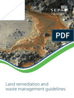 Land Remediation and Waste Management Guidelines
