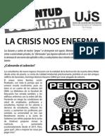 La crisis nos enferma, Boletín #1, Agosto 2013
