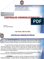 Centrales Hidroelectricas