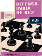 Defensa India Del Rey - Pedro Cherta