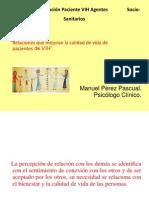 """""""Relaciones que mejoran la calidad de vida de pacientes de VIH""""."""