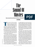 """The Sound of Movies"" (on surround sound and home theaters)"