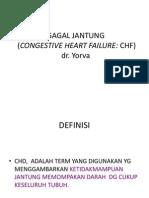 Gagal Jantung (Congestive Heart Failure = Chf Ok