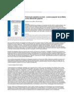 Lectura popular de la Biblia como educación popular Fernando Torres y Pablo Rozen