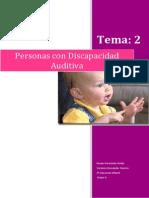 Trastornos Del Desarrollo Tema 2