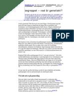 SH, JNA, Fk, HT2004, Miodrag_Vetenskapsfilosofi_Genbegreppet_V9