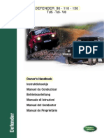 Users Manual - Defender Tdi Td5 v8