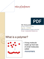 Properties of Polymer