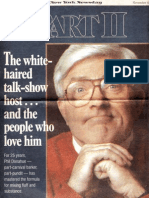 Phil Donahue interview