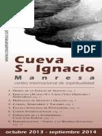 COVA MANRESA Activitats_Castella