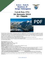 Sat Borgo Val i Pejo