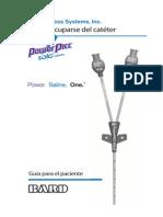 Mc-0451-00 PowerPICCSOLO Patient Guide Spanish Web