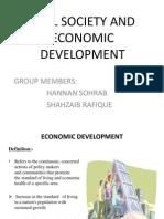 Civil Society and Economic Development in Pakistan
