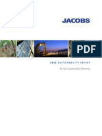 Jacobs 2012 Sustainability Report