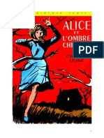 Caroline Quine Alice Roy 18 BV Alice Et l'Ombre Chinoise 1941